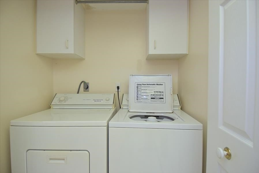 Laundry Room off Kitchen Area