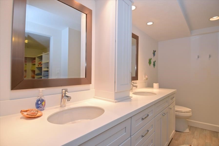 Master Bath Double Sinks