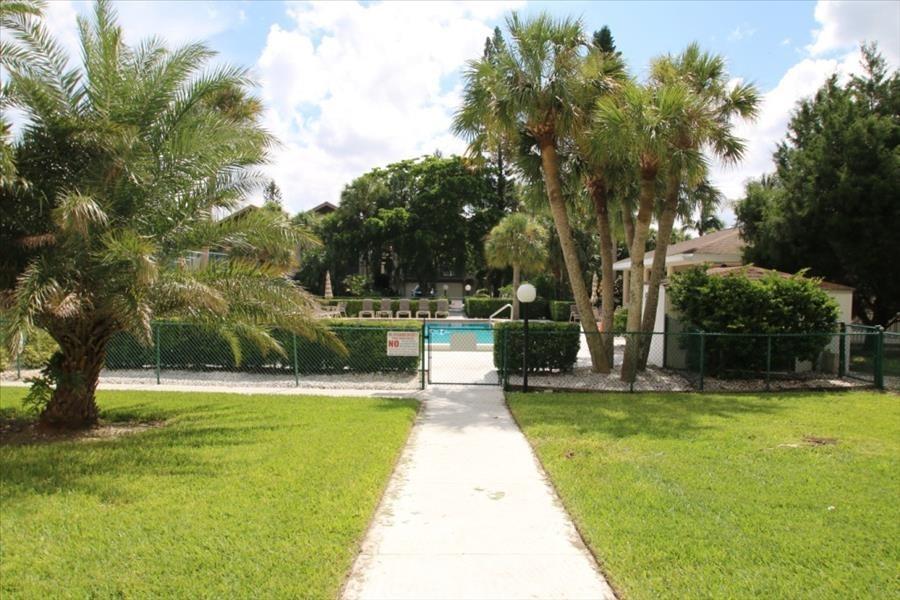 pool path