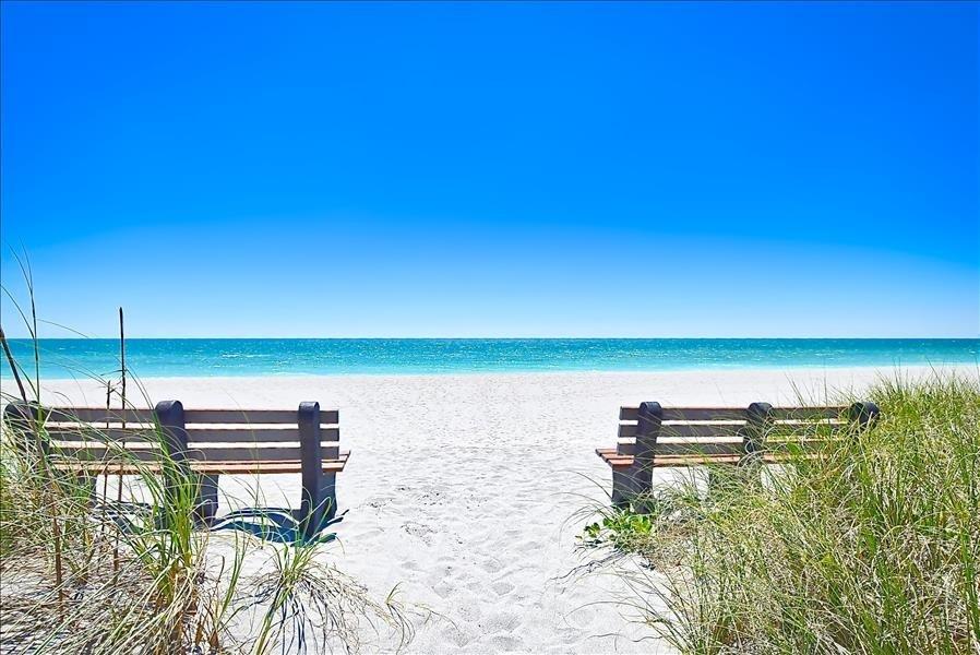 private beach area for Tortuga